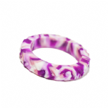 Tread Bangle (Teen / Young Adult) - 'Motorbite' - Pink Camo Tyre
